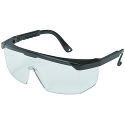 Impact Resistant Safety Glasses with Metallic Padding