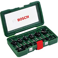 Bosch Router Bit Set (15 pc)