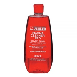 ENGINE CLEANER RED (SOLVENT-BASED)