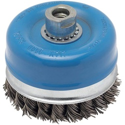 Bosch Heavy for Metal Wire Cup Brush, Knotted Wire