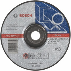 Bosch Expert for Metal Grinding Disc with depressed Centre