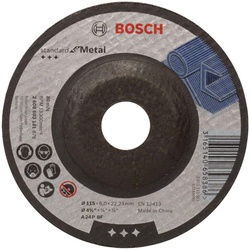 Bosch Standard for Metal Grinding Disc with depressed center