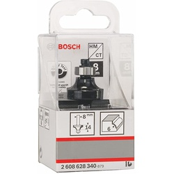Bosch Standard for Wood Rounded Over Router Bit